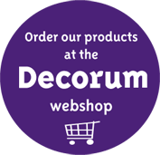 Order our products at the Decorum webshop